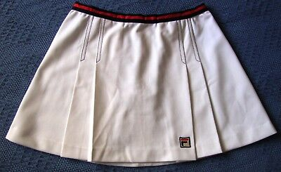 SKIRT TENNIS  woman vintage 80's FILA tg.46-M  Made in Italy   RARE