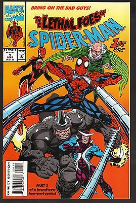 The Lethal Foes of Spider-Man #1-4--1993--Complete Set of 4 Comic Books