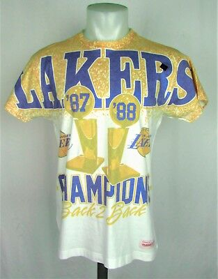 LOS ANGELES LAKERS CHAMPION Mitchell   Ness Sublimated Men T-Shirt ... ac05d65e8