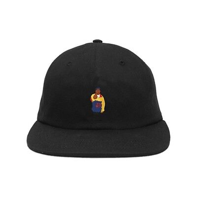 AG Acapulco Gold Chef 6 Panel Cap Black Yellow Blue Hat AGF16CHEF6PANELB Red
