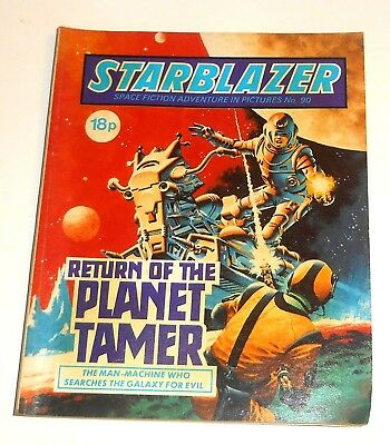 #90 Starblazer Picture Library - RETURN OF THE PLANET TAMER - 1983
