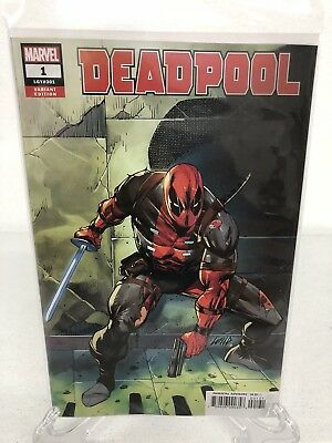 Deadpool #1 2018 Rob Liefeld 1:25 Variant In Hand Ready To Ship NEW Unread