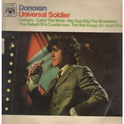DONOVAN Universal Soldier LP VINYL UK Marble Arch 10 Track In Laminated