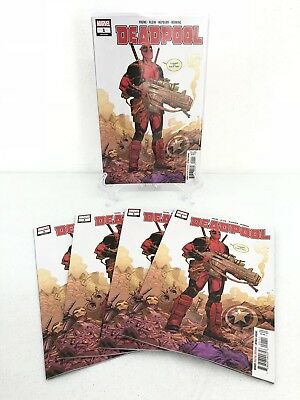 Deadpool #1 2018 Regular Cover Lot of 5 Copies CGC 9.8? Ready To Ship NEW Unread