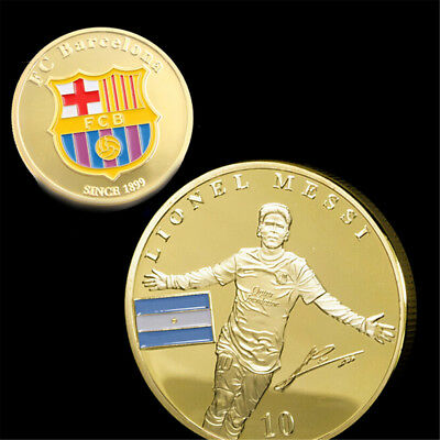 Soccer Football Superstar Lionel Messi Commemorative Coin Collection Gift SEAU