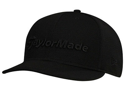 42587e993db TaylorMade Performance New Era 9Fifty Snapback Flatbill Golf Hat Cap Black  New