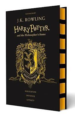Harry Potter and the Philosopher's Stone (Hufflepuff Edition) by J.K. Rowling