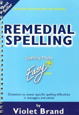 Remedial Spelling (Spelling Made Easy) by Brand, Violet Paperback Book The Cheap