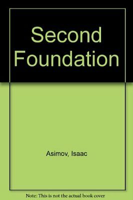 Second Foundation by Asimov, Isaac Hardback Book The Cheap Fast Free Post