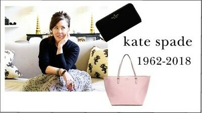 new! Kate Spade 1962-2018 tribute fridge magnet