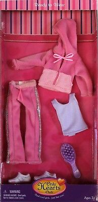 Only Hearts Club Ready to Wear Pink Fashion Outfit 272 Jogging Top Pants Brush