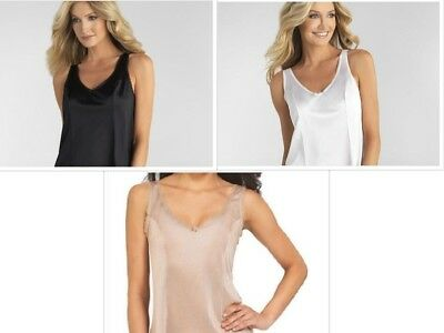Vassarette or Vanity Fair Women's Tailored Anti-Static Camisole