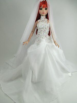 Outfit Dress Wedding Gown with veils Tonner Tyler Essential Ellowyne # 800-209