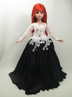 """Handcrafted Outfit gown Dress 16""""doll Tonner Tyler Essential Ellowyne 800-15"""
