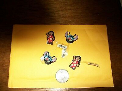 Disney Shoe Charms Lillo & Stitch a pair for each shoe charms toy lot 1