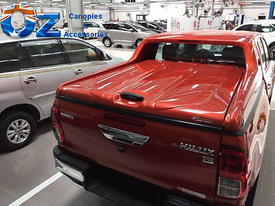 TOYOTA HILUX HARD LID Dual Cab  HARD TOP SR SR5 Tonneau Cover 2005 to 2015
