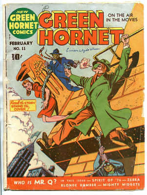 GREEN HORNET #11 - Complete; loose cover, outer wrap & 3 cfs;  Feb 1943