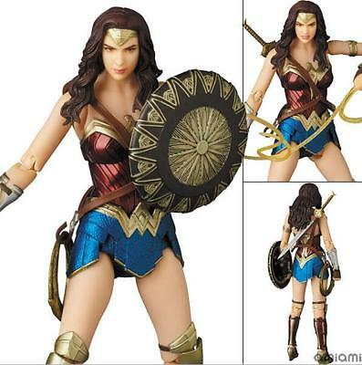 Mafex No. 048 DC Comics Justice League Wonder Woman PVC Action Figure New In Box