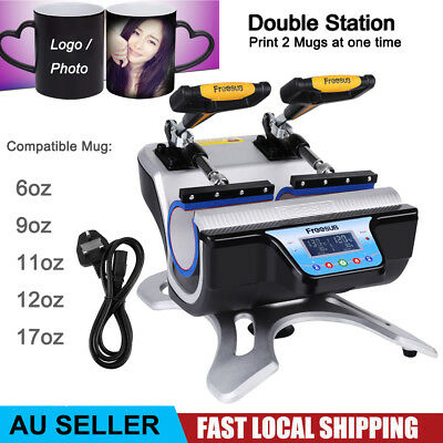DIY Mug Sublimation Heat Press Transfer Machine Automatic Printer Customize Cup