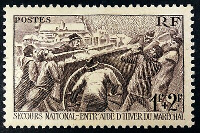 France Secours National  Timbre Neuf N° 497 **  Mnh 1941    B4