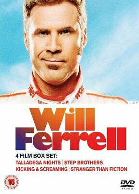Will Ferrell: 4 Film Collection [DVD] - DVD  8QVG The Cheap Fast Free Post