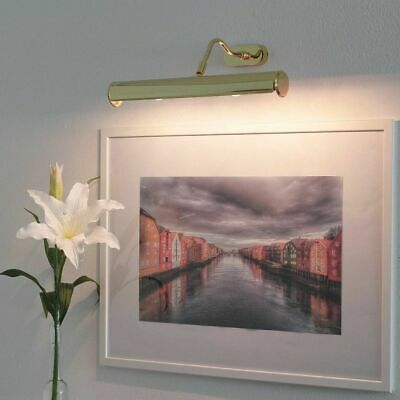 Picture Light 40cm Gold-Plated 24k Picture Lamp Lighting Picture Wall + Gift Box