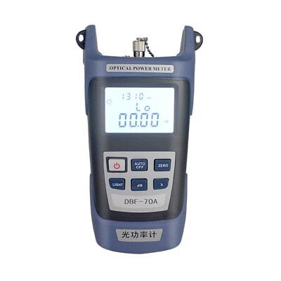 FTTH Fiber Optic Optical Power Meter Cable Tester -70~+10dBm FC/SC Connector GA