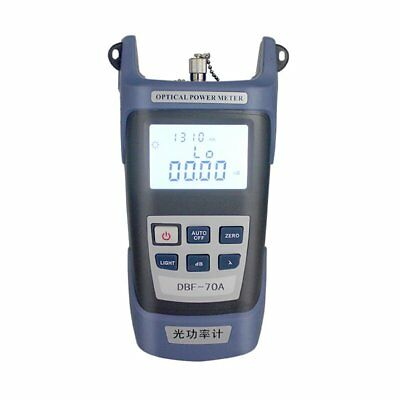 FTTH Fiber Optic Optical Power Meter Cable Tester -70~+10dBm FC/SC Connector RM