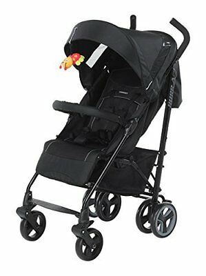Practical Buggy manageable and compact equipped with brake Baby Boy Black