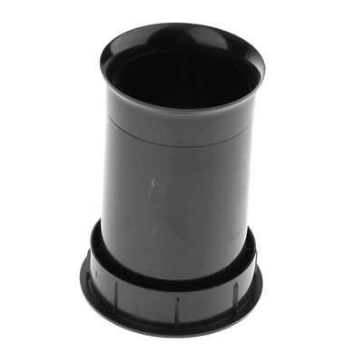Black Audio Speaker Port Tube Speakers Inverting Tube Pipe Speaker