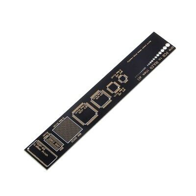 1PC PCB Reference Ruler PCB Packaging Units for Electronic Engineers