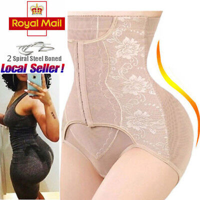 High Waist Tummy Control Girdle Panty Body Trainer Shaper Butt Lifter Knickers *