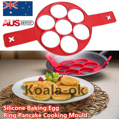 1pc Fantastic Nonstick Pancake Maker Egg Ring Maker Easy Pancake Mold AU STO EC