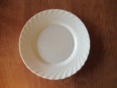 """Arcopal France TRIANON IVORY Dinner Plate 9 3/4"""" Scalloped  1 ea  10 available"""