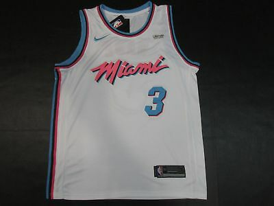 official photos 552df c356f NEW MENS DWAYNE Wade #3 Miami Heat
