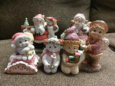Christmas Dreamsicles Lot of 6 GREAT CONDITION WITH FREE SHIPPING