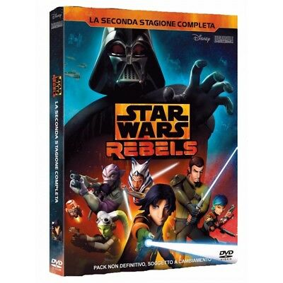 Star Wars - Rebels - Stagione 02 (3 Dvd) Dvd 8717418488321