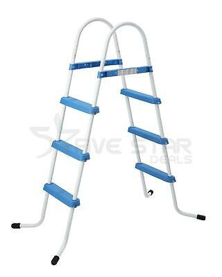 """3 STEP POOL LADDER FOR ABOVE GROUND UP TO 33.5""""/ 90cm SWIMMING POOL WALL HEIGHT"""