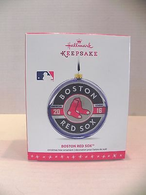 2016 Hallmark Boston Red Sox Christmas Ornament Brand New In Box