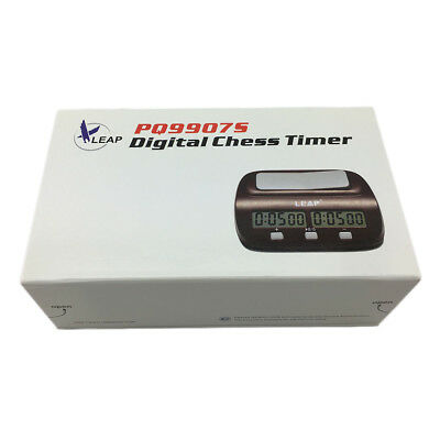 Chess Clock Timer Digital Chess Clock Two LED Screens Fashion Simple P6