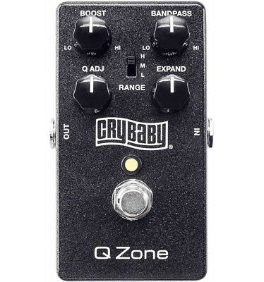 Dunlop Cry Baby Q Zone Fixed Wah - Pédale wah wah