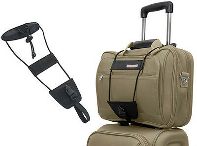 Adjustable Travel Luggage Bag Bungee Strap Suitcase Travelon Belt Trolley