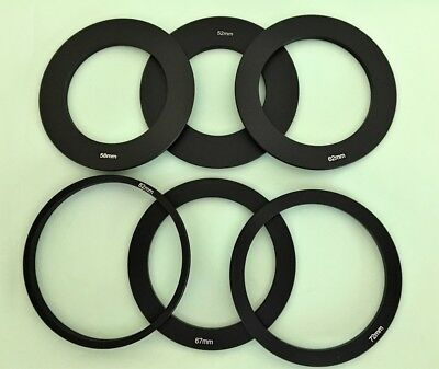 One Adapter for Cokin P Series Filter Holders, 6 sizes to choose from, UK seller