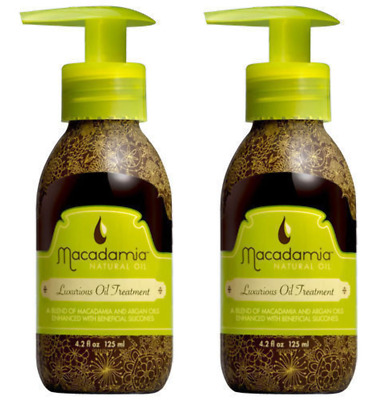 Macadamia Natural Oil, Luxurious Oil Treatment, 4.2 oz (Pack of 2)