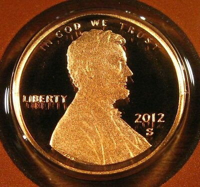 2012 S Lincoln Shield Cent Proof Coin