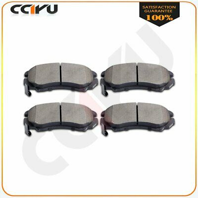 Nakamoto Ceramic Brake Pad Front Set Kit for Soul Elantra Sonata Tiburon Tucson