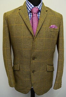Ms2233 Hardy Amies/ Hepworths Men's Vintage Blazer Jacket Size  40 Uk