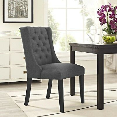 bc02cc55009 POSE UPHOLSTERED FABRIC Dining Chair in Gray -  156.99