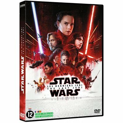 DVD - Star Wars : Les Derniers Jedi - Mark Hamill, Carrie Fisher, Gwendoline Chr