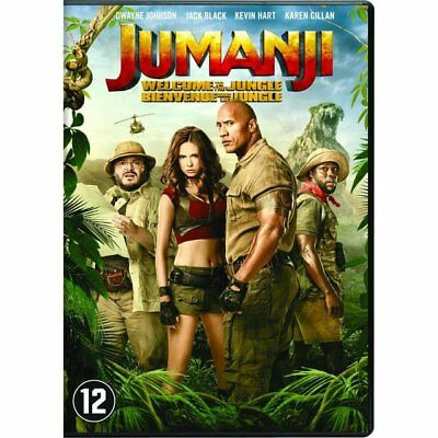 DVD - Jumanji : Bienvenue Dans la Jungle - Dwayne Johnson, Kevin Hart, Jack Blac